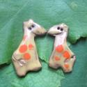 Náušničky žirafa