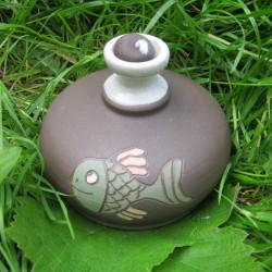 Olejová lampa ryba