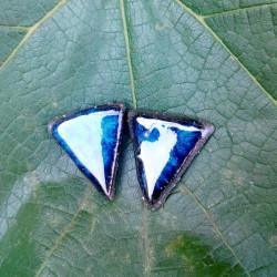 Náušničky trojúhelník