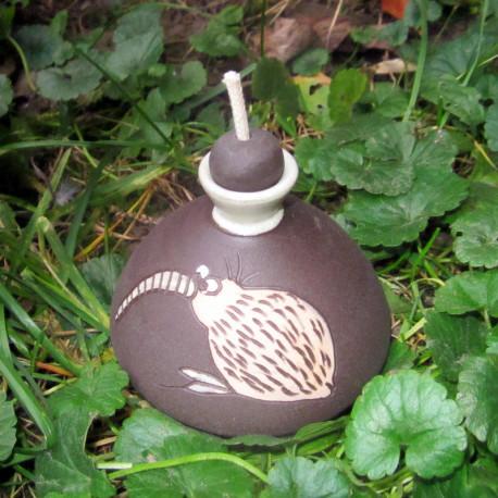 Olejová lampa kivi