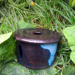 Ohřívák modrý