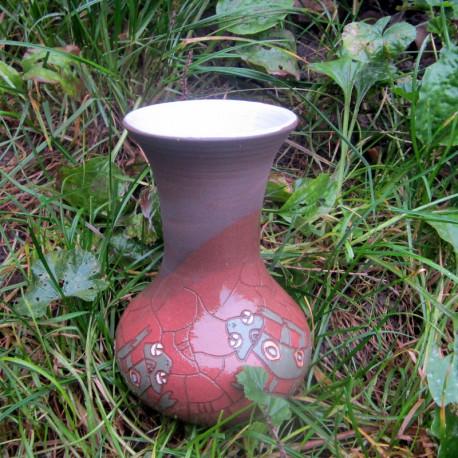 Váza ještěrka