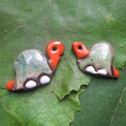Náušničky želva